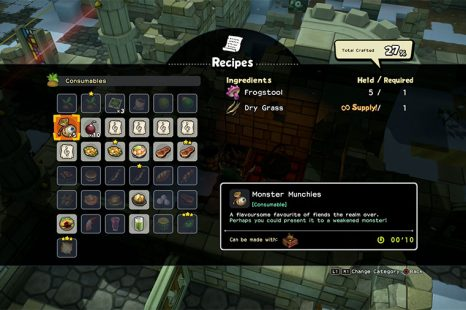 How To Make Monster Munchies In Dragon Quest Builders 2