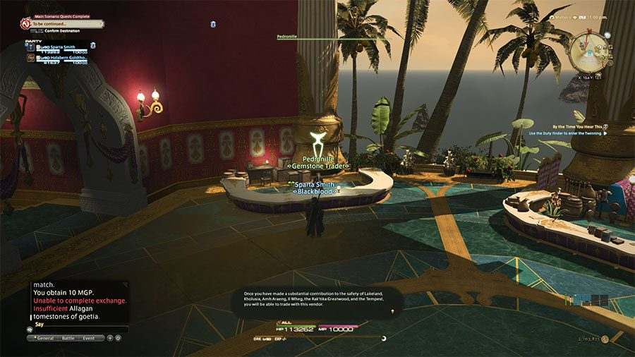 How To Unlock Eulmore Merchants In Final Fantasy XIV