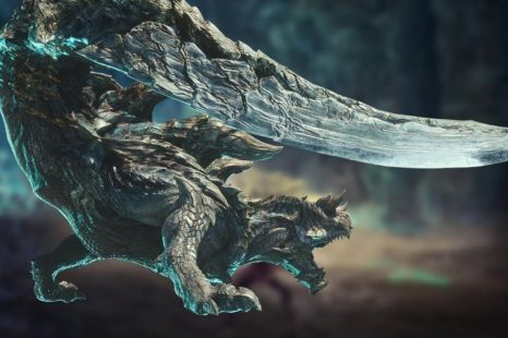 Monster Hunter World: Iceborne Gets Acidic Glavenus Gameplay