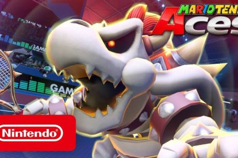 Dry Bowser Coming to Mario Tennis Aces July 1
