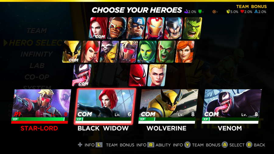 Marvel Ultimate Alliance 3 Character Unlock Guide