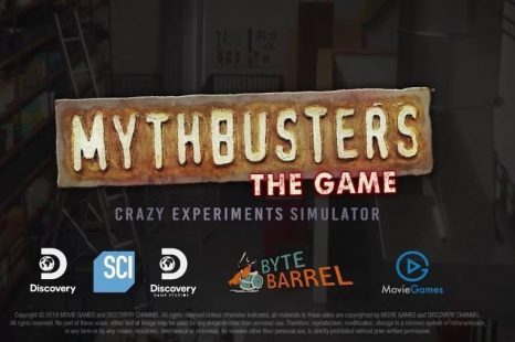 MythBusters: The Game Announced