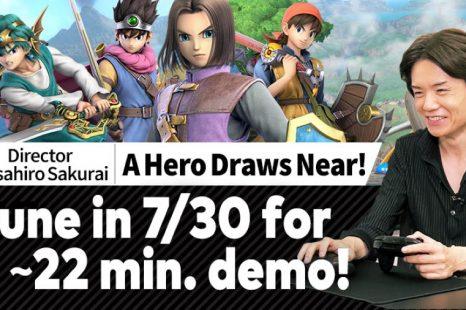 Super Smash Bros. Ultimate's Hero DLC to Get Livestream July 30