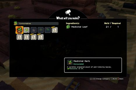 Where To Find Medicinal Leaf To Make Medicinal Herb In Dragon Quest Builders 2
