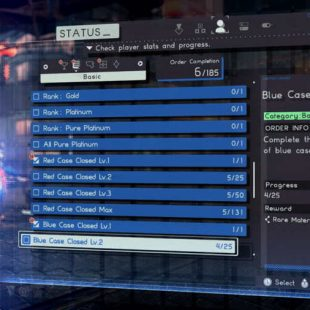 Astral Chain Blue Case Guide