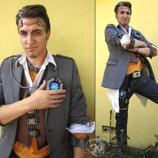 Cosplay Wednesday – Borderlands 2's Handsome Jack