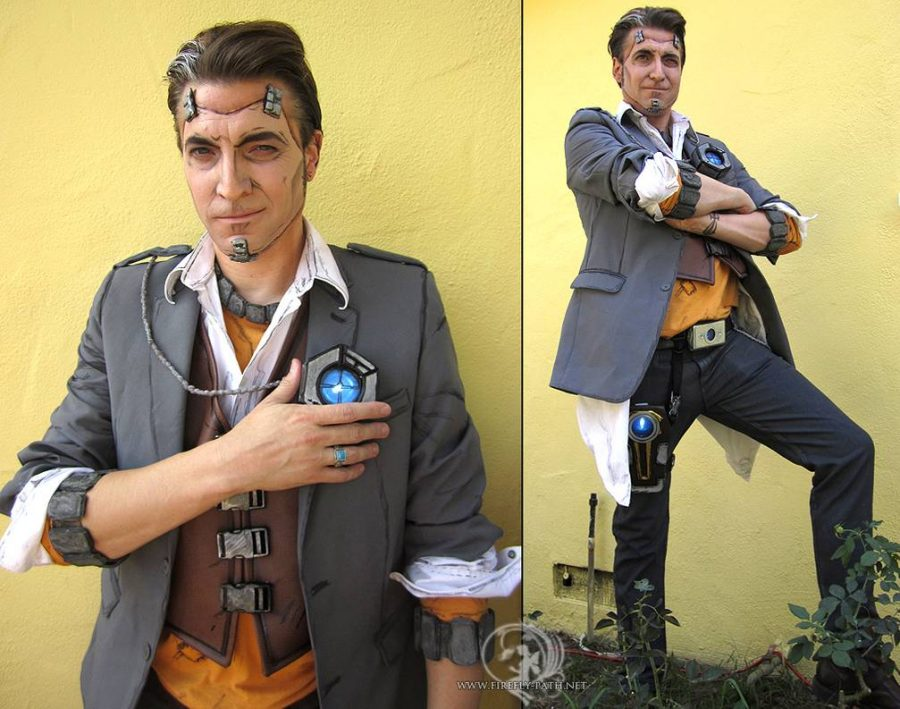 Cosplay Wednesday Borderlands 2 S Handsome Jack