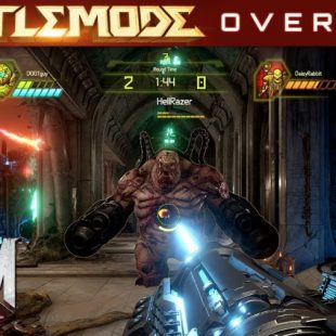 DOOM Eternal Gets BATTLEMODE Multiplayer Overview
