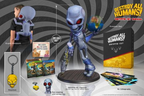 Destroy All Humans! Getting Two Special Editions