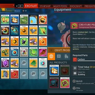 How To Make Creature Pellets In No Man's Sky Beyond