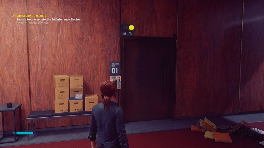 How To Unlock Clearance Level 01 Door In Control