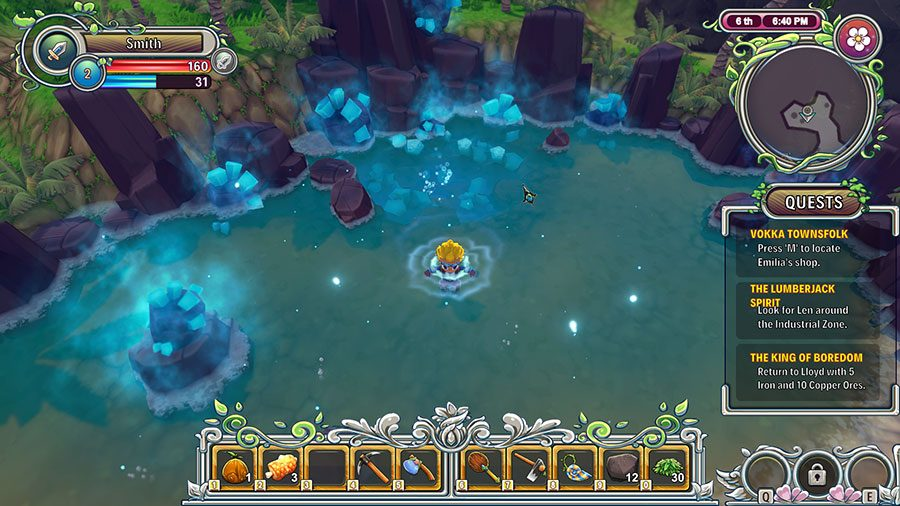 How To Use Hot Springs In RE Legend