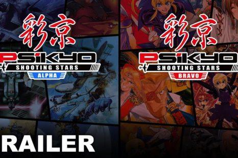 Psikyo Shooting Stars Alpha and Bravo Announced