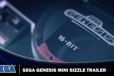 SEGA Genesis Mini Gets Sizzle Reel Trailer