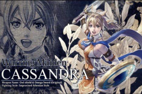 Cassandra Coming to SoulCalibur VI