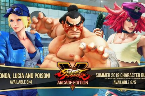 E. Honda, Lucia, and Poison Coming to Street Fighter V: Arcade Edition