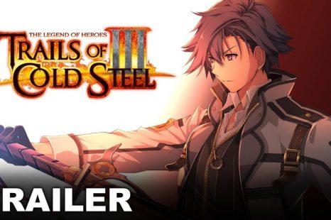 "Trails of Cold Steel III Gets ""The Bonds Between Us"" Trailer"