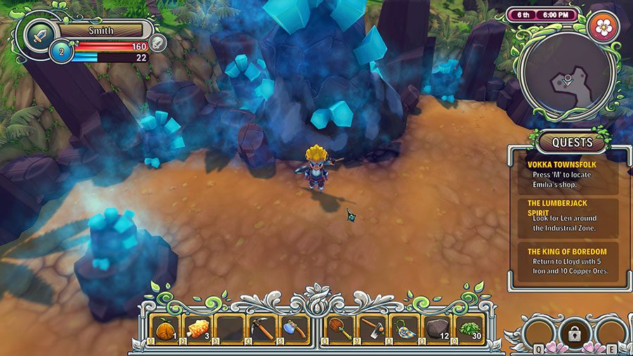 What Is The Large Blue Rock For In RE Legend