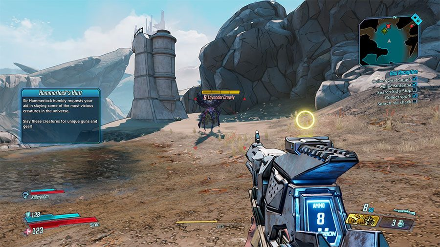 Borderlands 3 Legendary Hunt Creature Location Guide