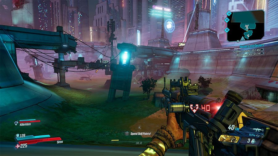 Borderlands 3 Meridian Outskirts Crew Challenges Guide