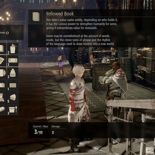 Code Vein Valuables Gift Giving Guide