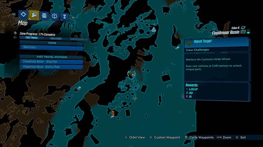Hijack Target 2 Borderlands 3