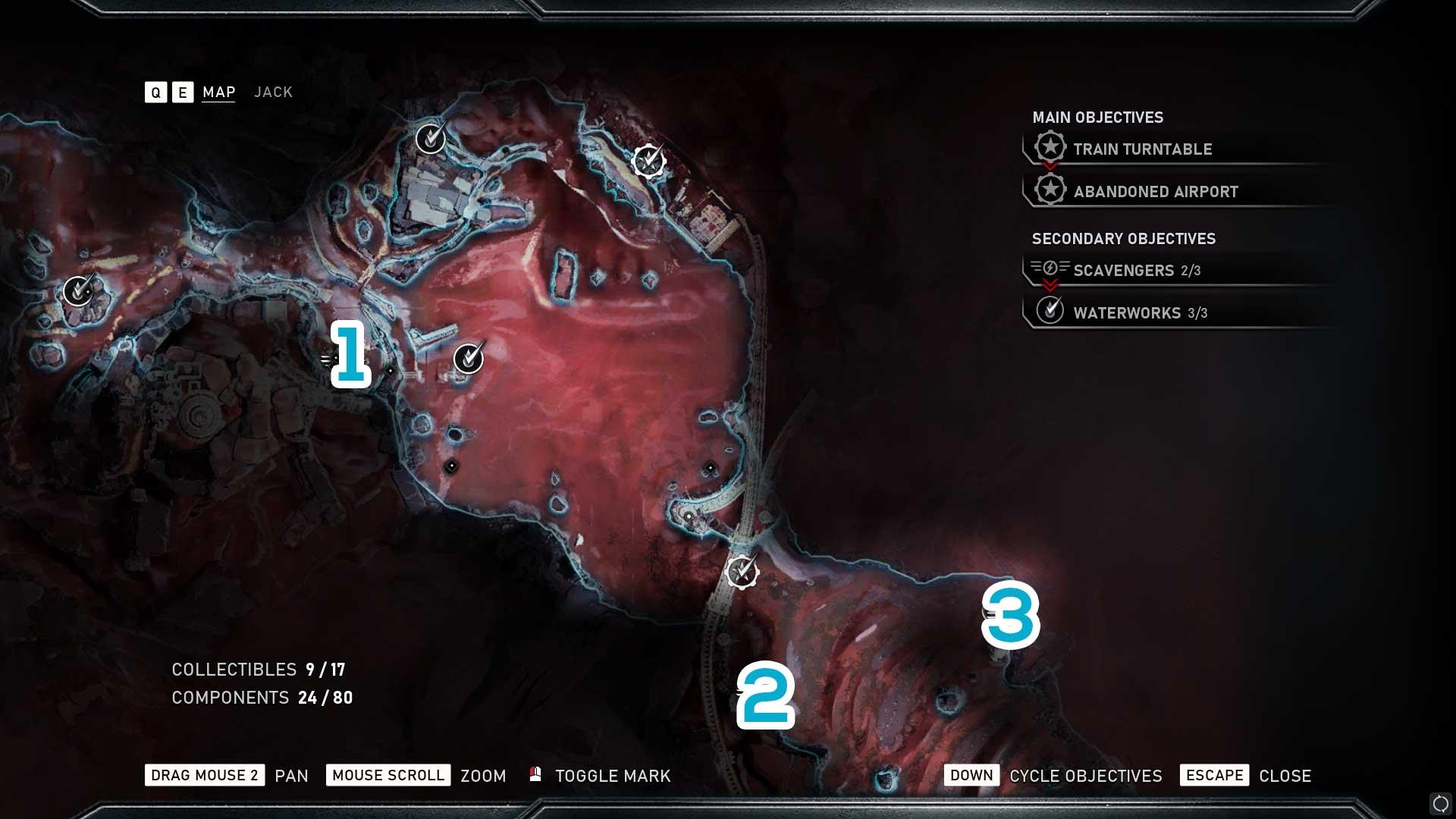 Gears 5 Jack Abilities Location Guide