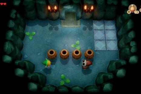 How To Kill Shyguy Enemies In Zelda Link's Awakening