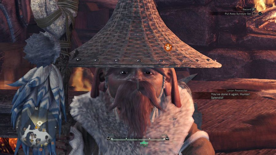 How To Photograph Lynian Researcher In MHW Iceborne