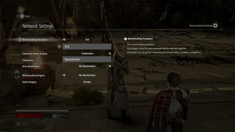 How To Play With Friends In Code Vein