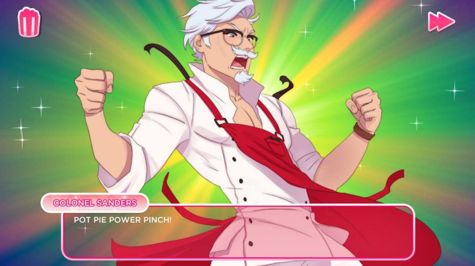 I Love You, Colonel Sanders! A Finger Lickin' Good Dating Simulator Review