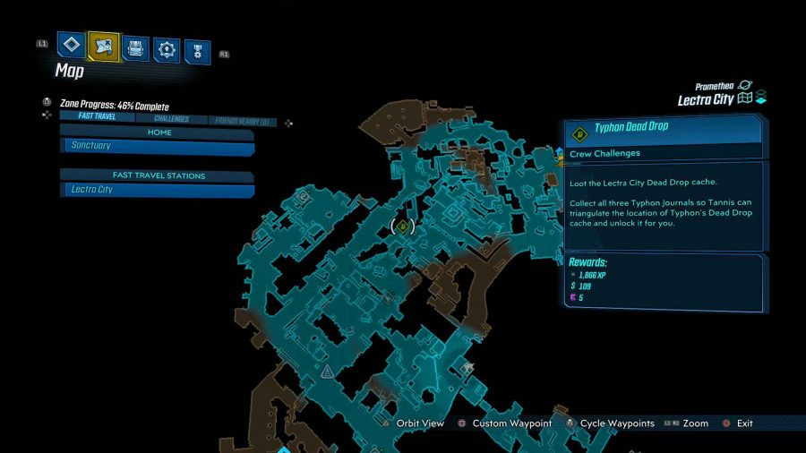 Lectra City Typhon Dead Drop