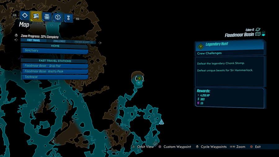 Legendary Hunt Borderlands 3