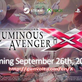 Gunvolt Chronicles: Luminous Avenger iX Gets Second Trailer