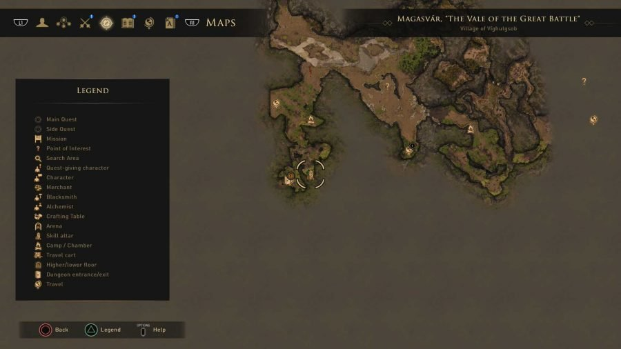 Magasvar, Vale of the Great Battle Skill Altar 2