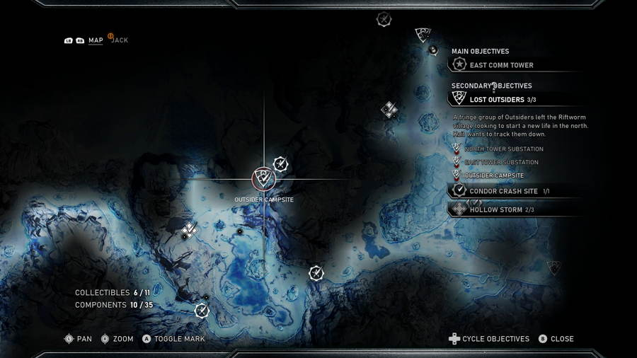 Outsider Campsite 1 Gears 5