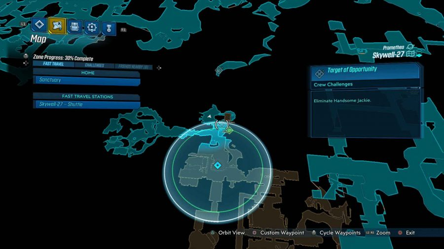 Skywell 27 Target Of Opportunity 900x506 - Borderlands 3 - Skywell-27, guida alle sfide