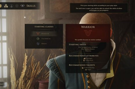 What Class To Choose In Greedfall