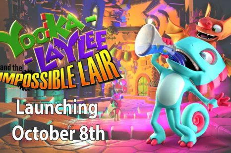 Yooka-Laylee and the Impossible Lair Coming October 8