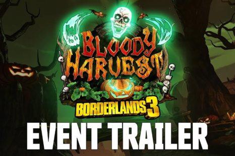 Borderlands 3 Bloody Harvest Event Beginning October 24