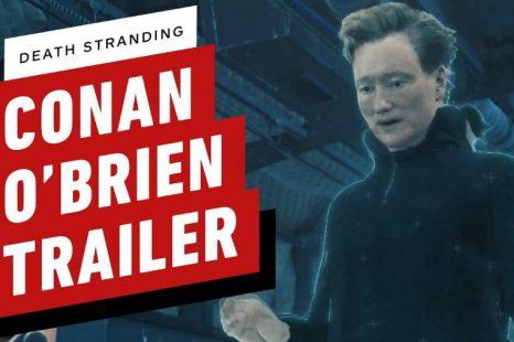 Death Stranding Gets Conan O'Brien Trailer