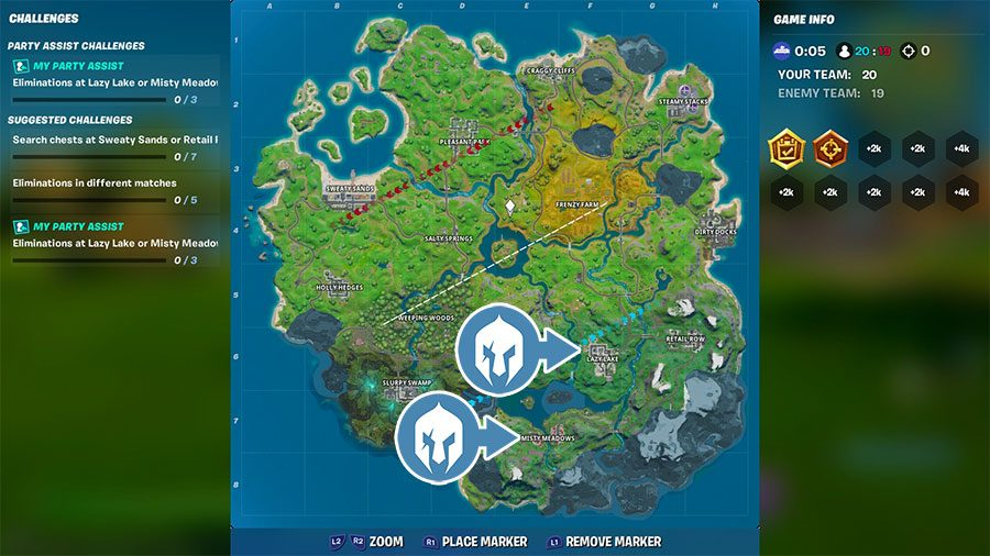 Fortnite Season 1 Chapter 2 Challenges Guide Gamersheroes