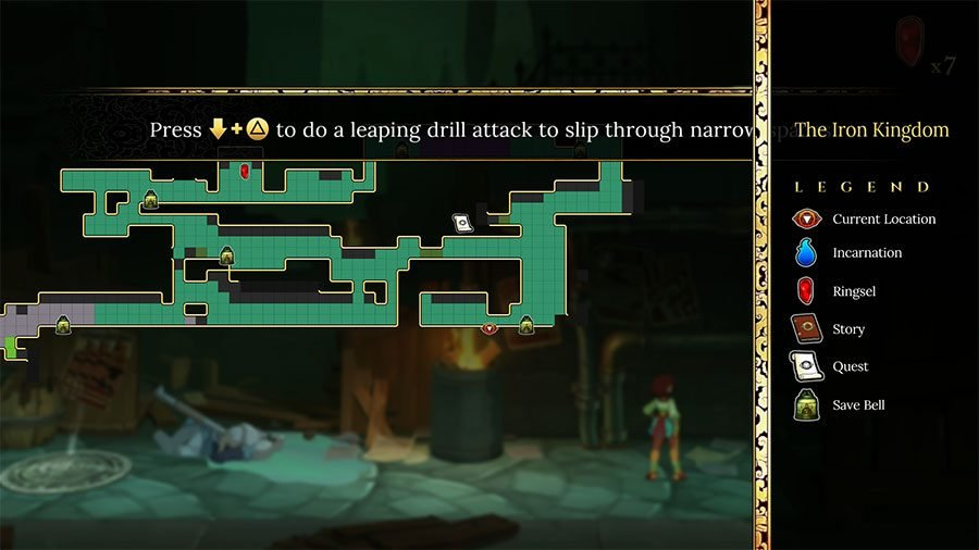 Get Through Narrow Spaces In Indivisible