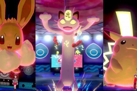 Gigantamax Pokemon Highlighted in New Pokemon Sword and Shield Trailer