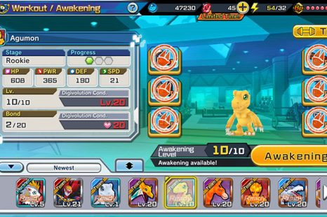 How To Awaken Digimon In Digimon ReArise