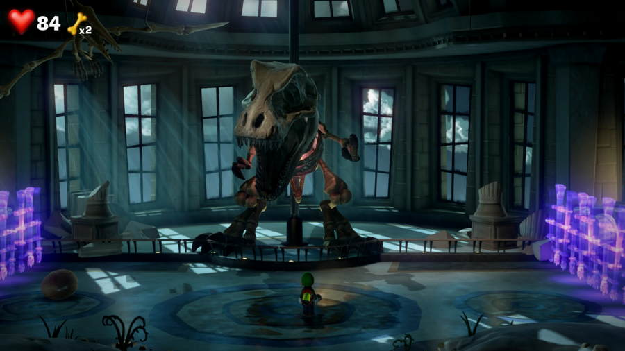 How To Beat The T Rex In Luigi's Mansion 3