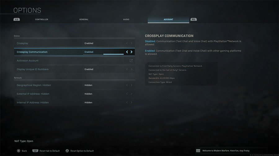 How To Disable Crossplay (Platform) In Call Of Duty Modern Warfare