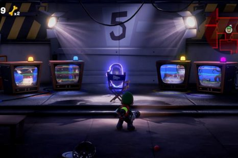 Luigi's Mansion Floor 8 TV Room Puzzle Guide