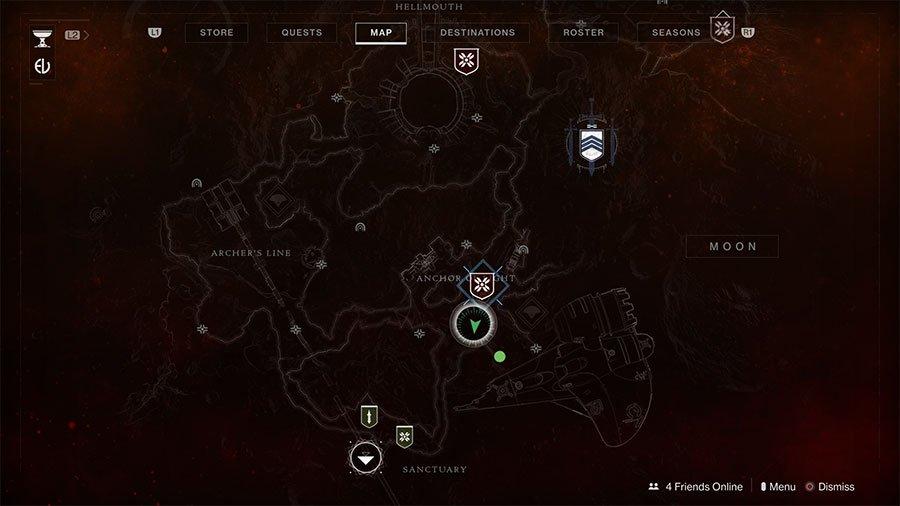 Trove Guardian #1 Map Location