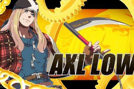 New Guilty Gear Gets Axl Low Trailer